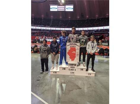 Nicholas Renteria takes 4th in state!