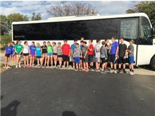 IC/VIS XC 8th grade Limo Ride 2017