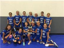 2018 5th Grade Lombard Pre-Season Invitational- 2nd Place
