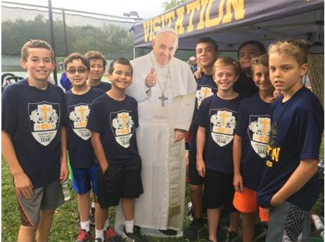 IC/VIS XC w/ Pope Francis