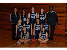 2014-2015 Girls JV Basketball Team