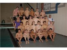 2014-2015 Boys Swim Team
