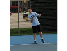 Dan Costa; 2015 IHSA Tennis State Qualifier