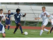 Boys Soccer - Action vs. Yorkville