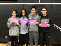 Congratulations to Sophomores Monika Narain, Delicia Chen and seniors Daniel Chen and Daniel Soto for qualifying for the IHSA state cross country meet in Peoria.