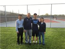 Congratulations to Sr. Bert Cao who finished in the top 10 in the IHSA state tennis championships.