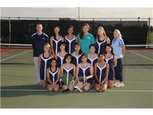 2012 - IMSA JV Girls Tennnis