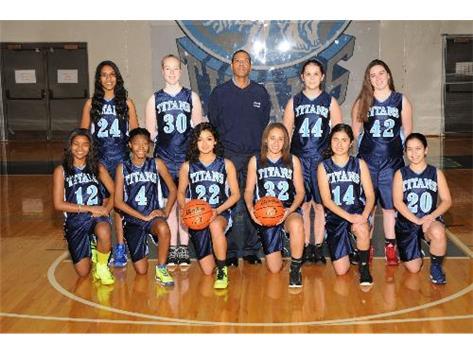 2013 - 2014 Girls Varsity Basketball