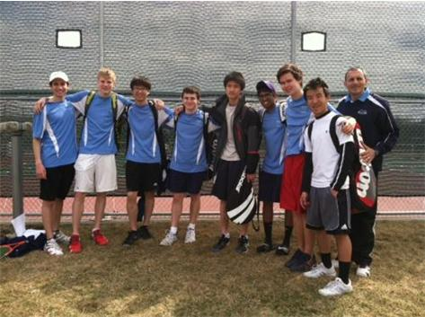 Boys Varsity Tennis - Hampshire Invite Champions!!