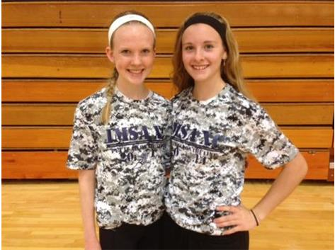 IHSA Girls State Cross-Country Participants - Jill and Maddie