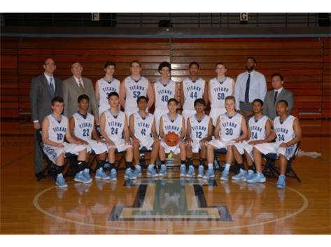 2014-2015 Boys Basketball Team