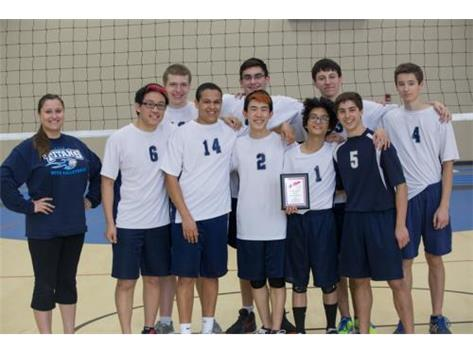 2015 - Boys VB team; 2nd Place @ Rockford