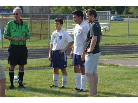 Coach Lindquist; Pre-game