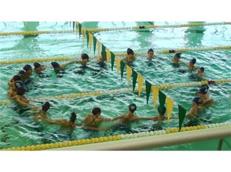 Elk Grove Swim Invite, 2015 - Synchronized Swimming