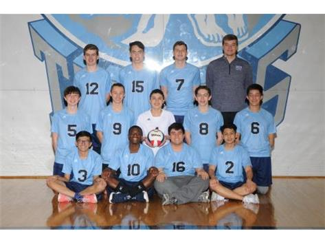 2019 Boys Volleyball team