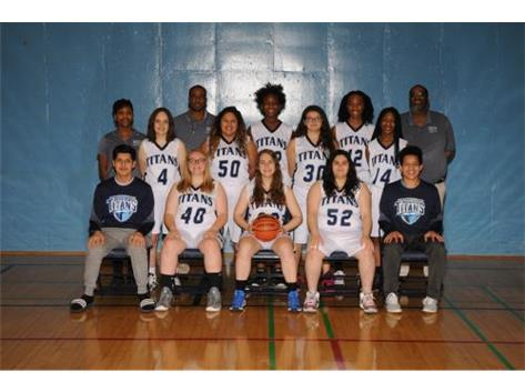 2018-19 Girls Basketball Team