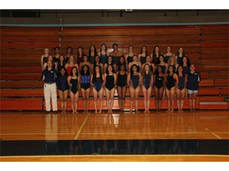 2019 Girls Swim team