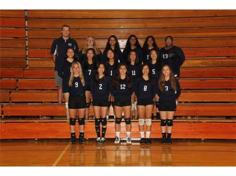 2019 Girls Volleyball team