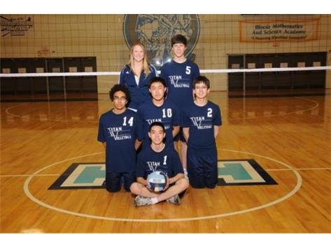 2012 - IMSA JV Boys Volleyball