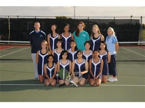 2012 - IMSA JV Girls Tennnis