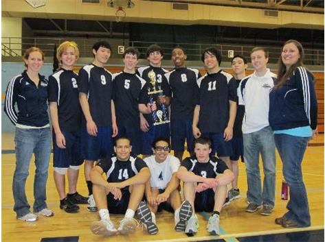 2nd Place - 2013 IMSA Boys VB Invite