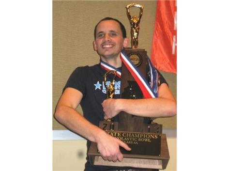 Noah Prince - IMSA Scholastic Bowl Coach 3-Peat