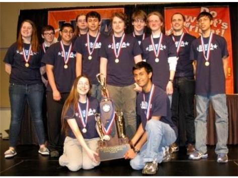 Scholastic Bowl State Champions - 2013