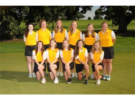 2019-2020 Girls Golf Team