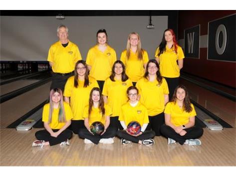2020-2021 Varsity Bowling Team