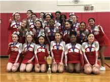 7/8th Grade Girls Cheerleading City Champions