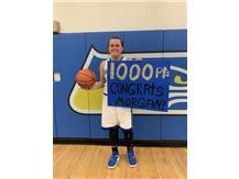 Morgan hits 1000 career points!