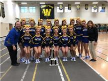 Cheer wins 1st at Joliet West Invite!