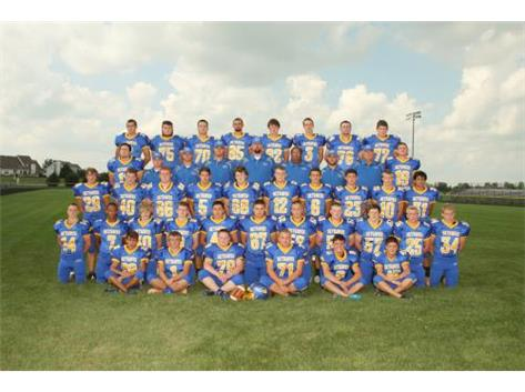 Varsity Football Team - BNC East Conference Champions