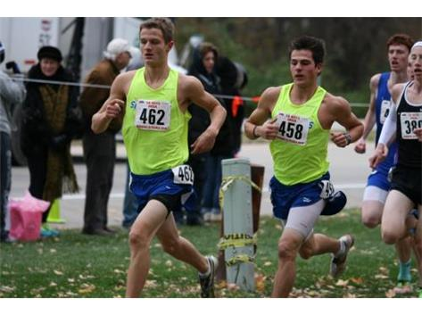 Congratulations to Matt and Noah for earning All State Cross Country Honors.