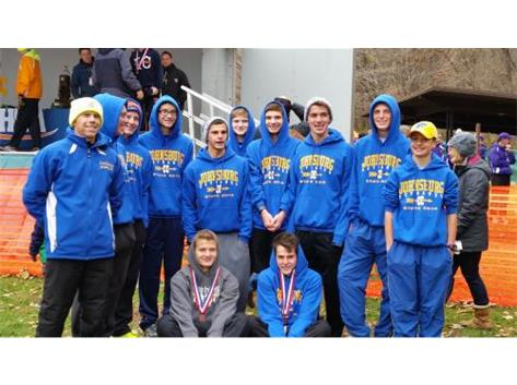 Congratulations to the Boys Cross Country Team for their 7th place finish at the IHSA State Cross Country Championships.