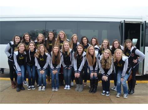 Good Luck at the Illinois HIgh School State Championships this weekend! GO HAWKETTES!