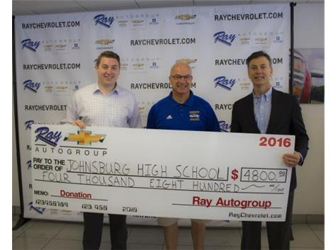 A BIG THANK YOU to Ray Chevrolet for their continued support of Johnsburg Athletics!