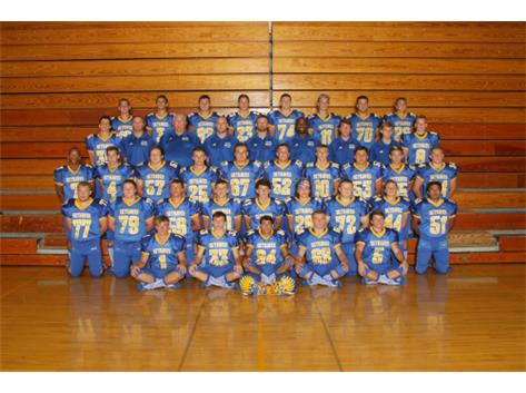 Congratulations to the Varsity Football Team for their undefeated season and for winning the Kishwaukee River Conference Championship. ON TO THE PLAYOFFS THEY GO!