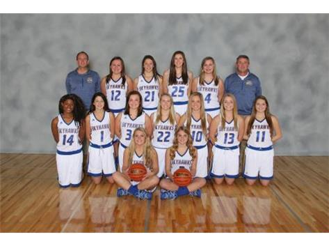 Varsity Girls Basketball Team - Kishwaukee River Conference Champions
