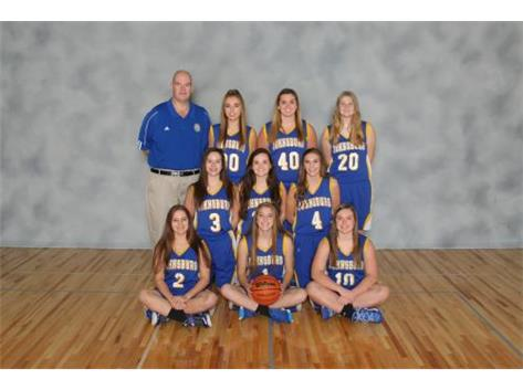Sophomore Girls Basketball Team