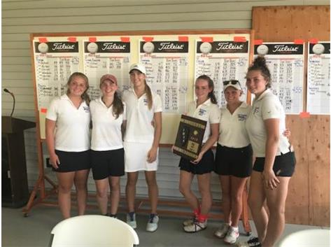 Girls Golf Wins Regionals!