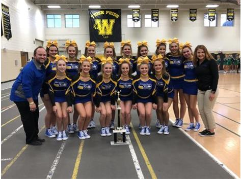 Cheer wins 1st at Joliet West Invite!