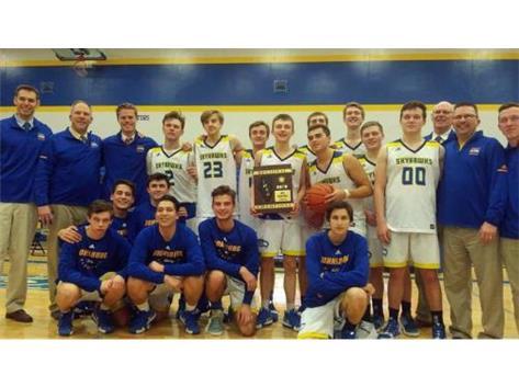 Boys Basketball wins Regionals!