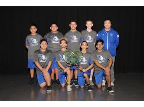 Boys JV Tennis 2018