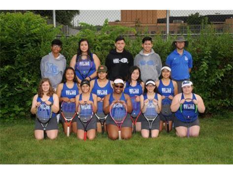 Girls Tennis Varsity 2019