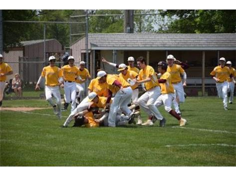 2016 regional title walk-off celebration