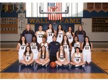 Girls Varsity Basketball.  Go Eagles!!