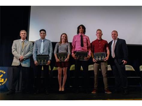 Congratulations to Luis Aburto,  Becca Johnson, Tony Lemon, Mike Wilms and not pictures Michael Dibeasi.