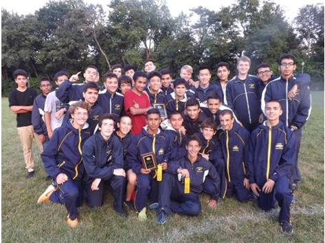 Leyden Varsity finished in second place out of 8 teams with 73 points.