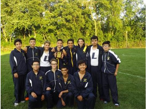 Leyden Varsity finished 2nd with 41 points